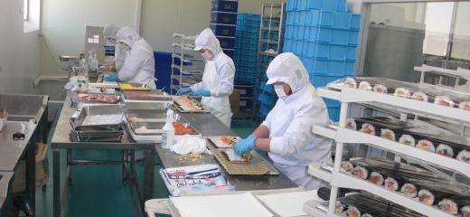 プロ・スパー 鮮魚 工場紹介&組織図